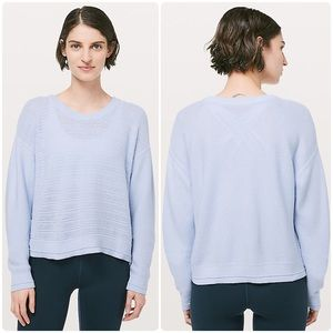 Lululemon Nurture & Nature Pullover Sweater Crop